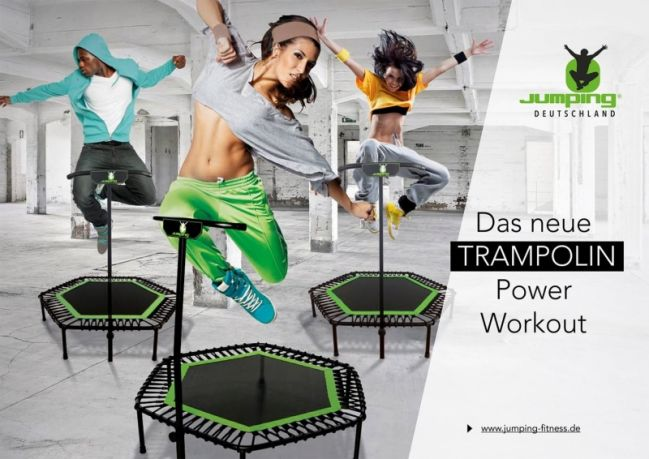 Jumping Fitness - 17:30-18:30 Uhr